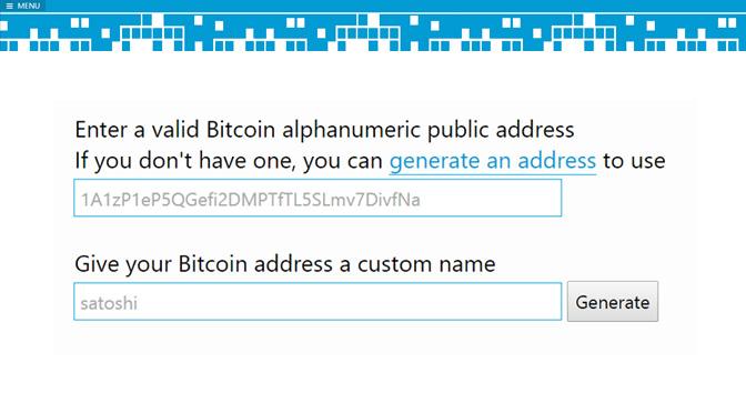Kürzere Bitcoin-Adresse gefällig?