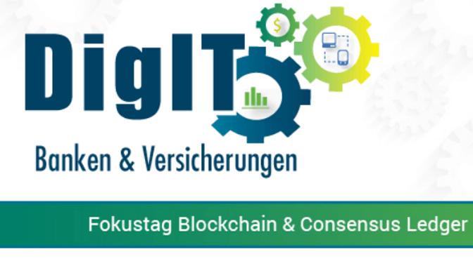 """""""Fokustag Blockchain"""" auf der DigIT"""