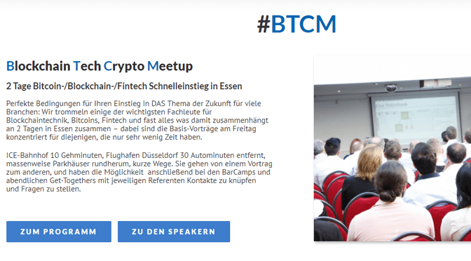#BTCM – Blockchain-Konferenz & Meetup in Essen