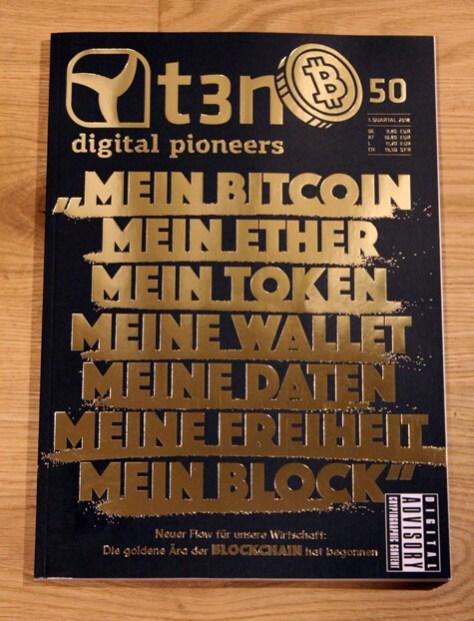 t3n 50 Bitcoin-Blockchain