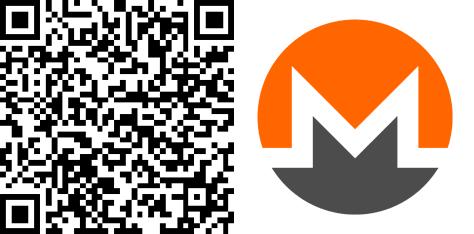 The Coinspondent Monero-QR-Code mit Bild (475)