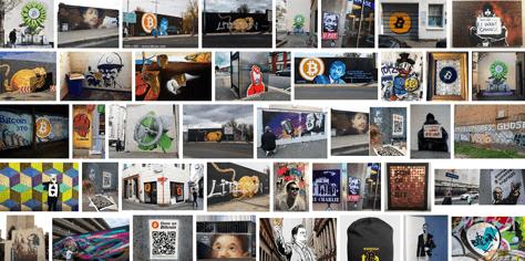 bitcoin streetart