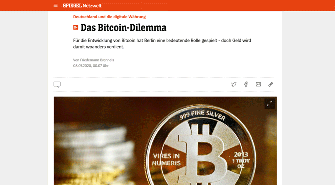 Das Bitcoin- & Paywall-Dilemma
