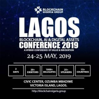 Announcing the 3rd Lagos Blockchain AI, and Digital Assets Conference 2019