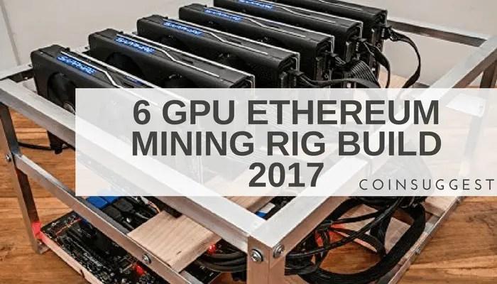 6 GPU Ethereum Mining Rig Build 2017