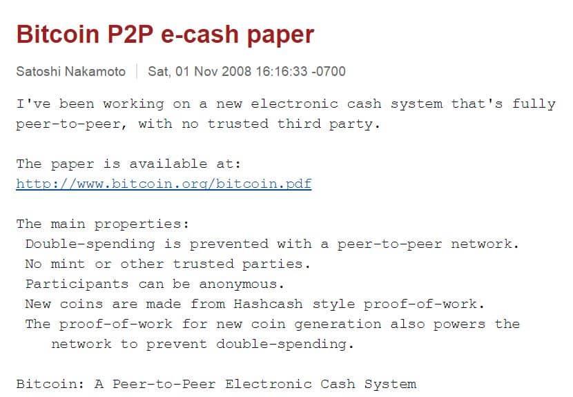 Satoshi's Mail