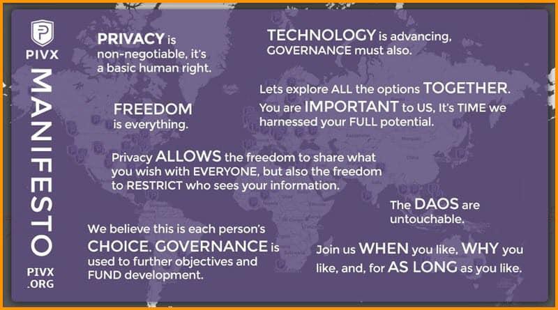 PIVX Goal and Manifesto