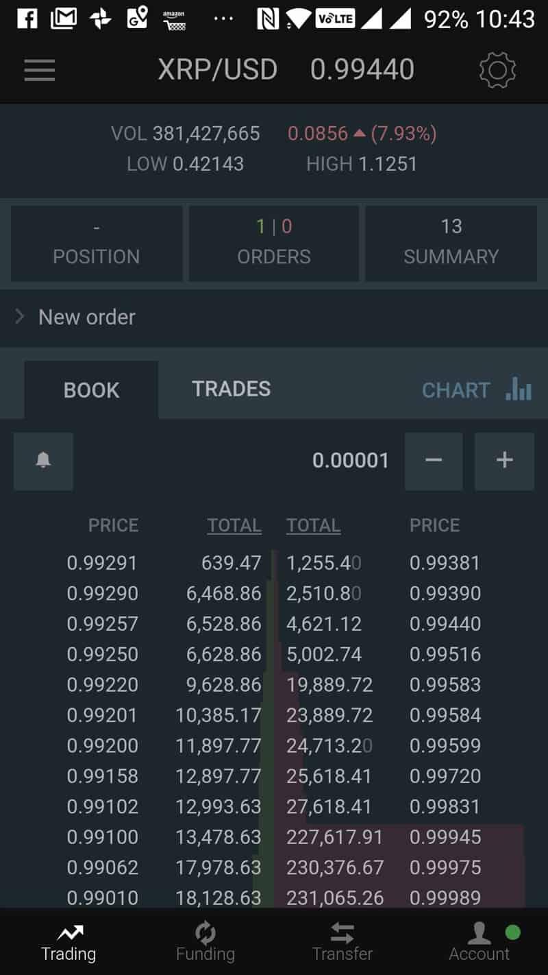 android bitcoin trader
