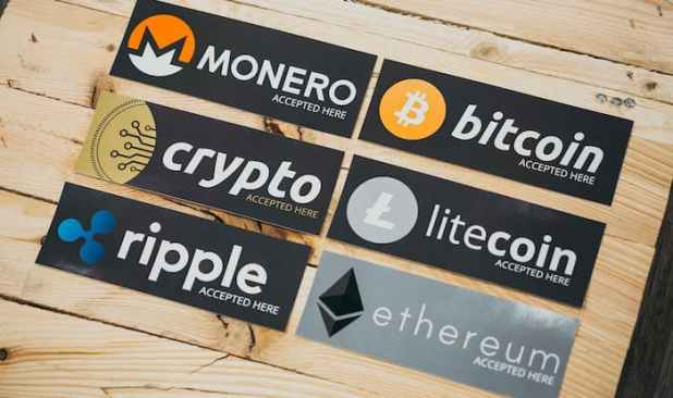 Cryptocurrencies accepted