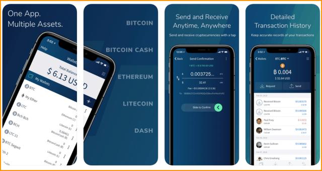 Edge Bitcoin iOS Wallet