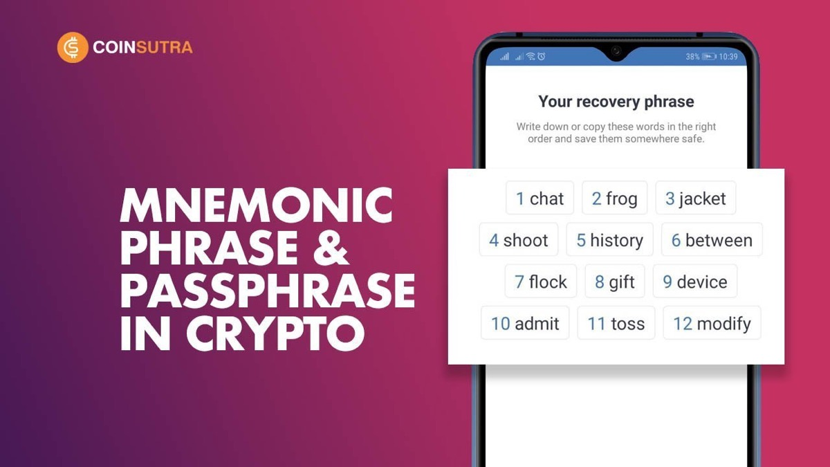 Mnemonic Phrase in Cryptocurrency