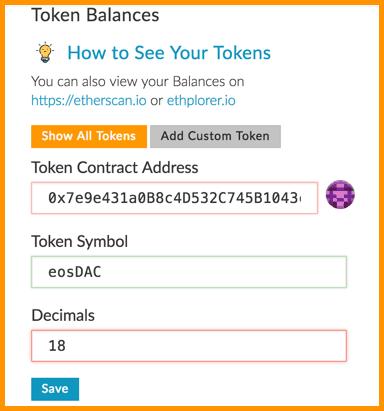 Token Contract