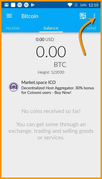 Bitcoin Coinomi