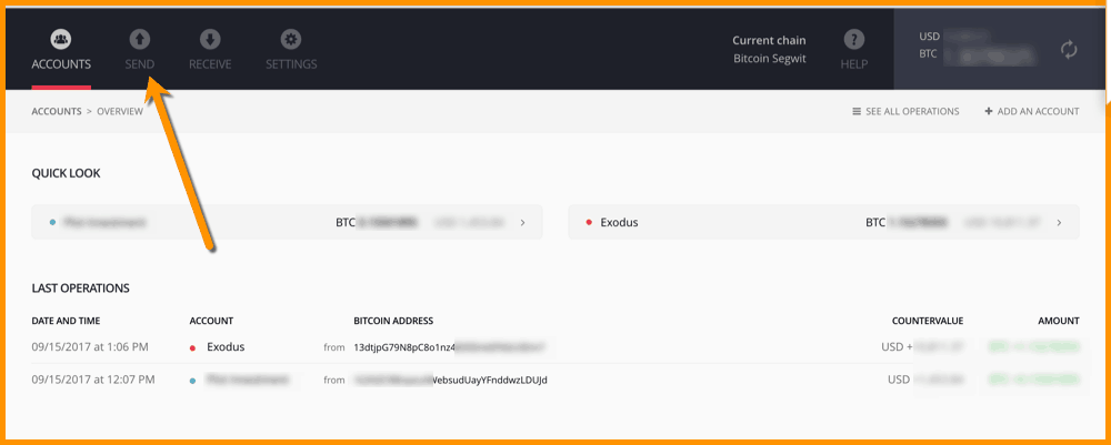 Sending BTC From A Ledger Nano S