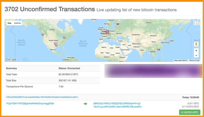 bitcoin live transaction map hot forex metatrader 5