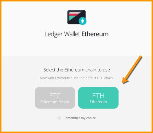 Ledger Wallet Ethereum