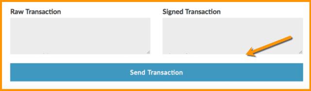 Send Transaction Option