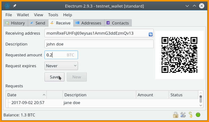 Electrum On Tails Operating System