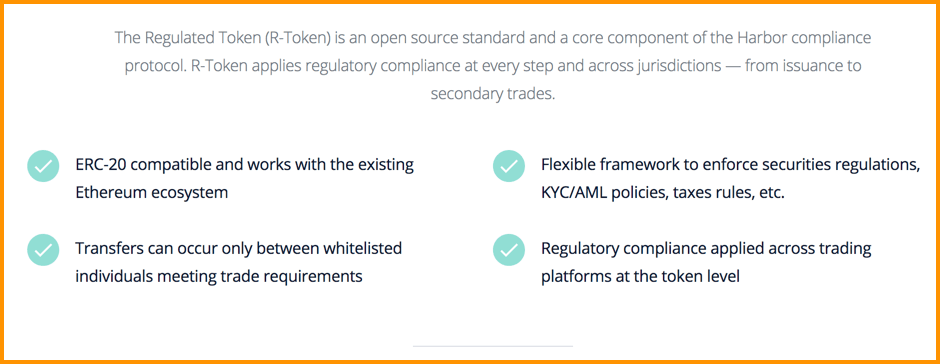 The regulated token - R-Token