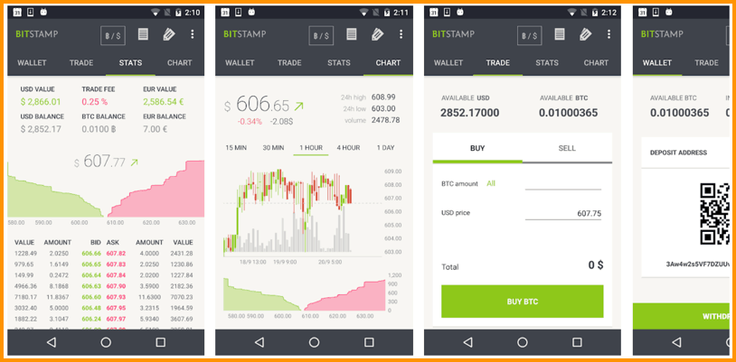 Download Bitstamp Android App
