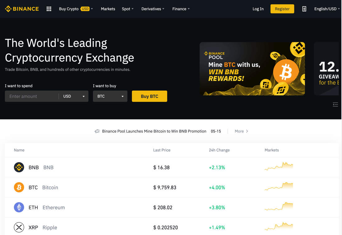 10 Best Cryptocurrency Exchanges In The World To Buy Any Altcoins