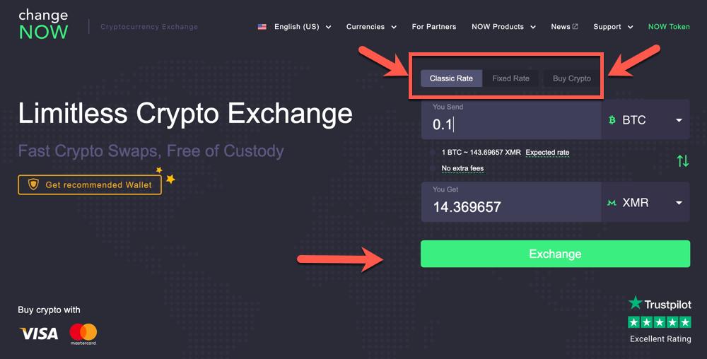 exchange xmr į btc