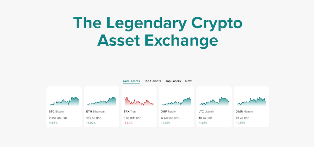 Poloniex Crypto Exchange