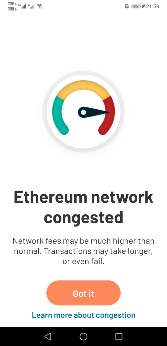 Argent Wallet Adds Ethereum Network fee controls Feature