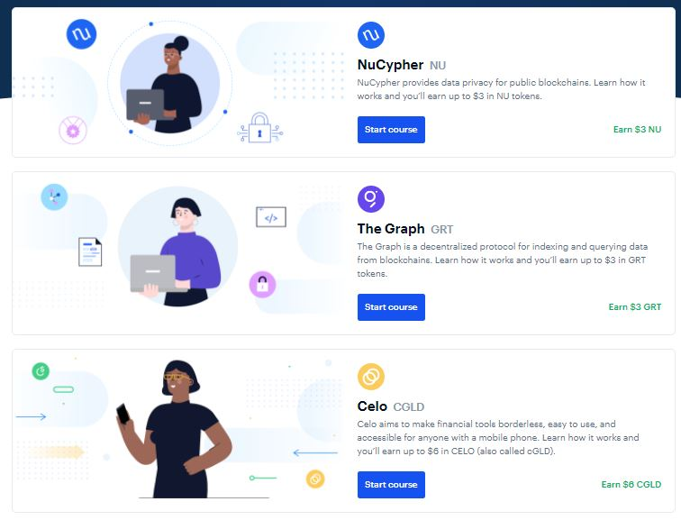 Coinbase - Earn while you Learn