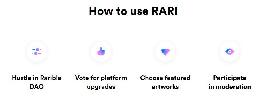RARI Token - Use Cases