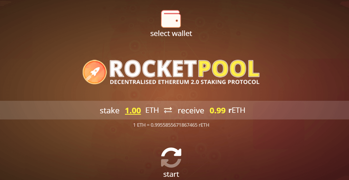 1. Rocketpool Staking