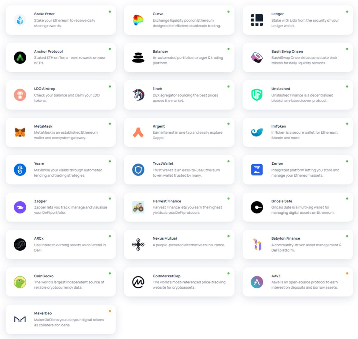 Lido Finance - DeFi Apps