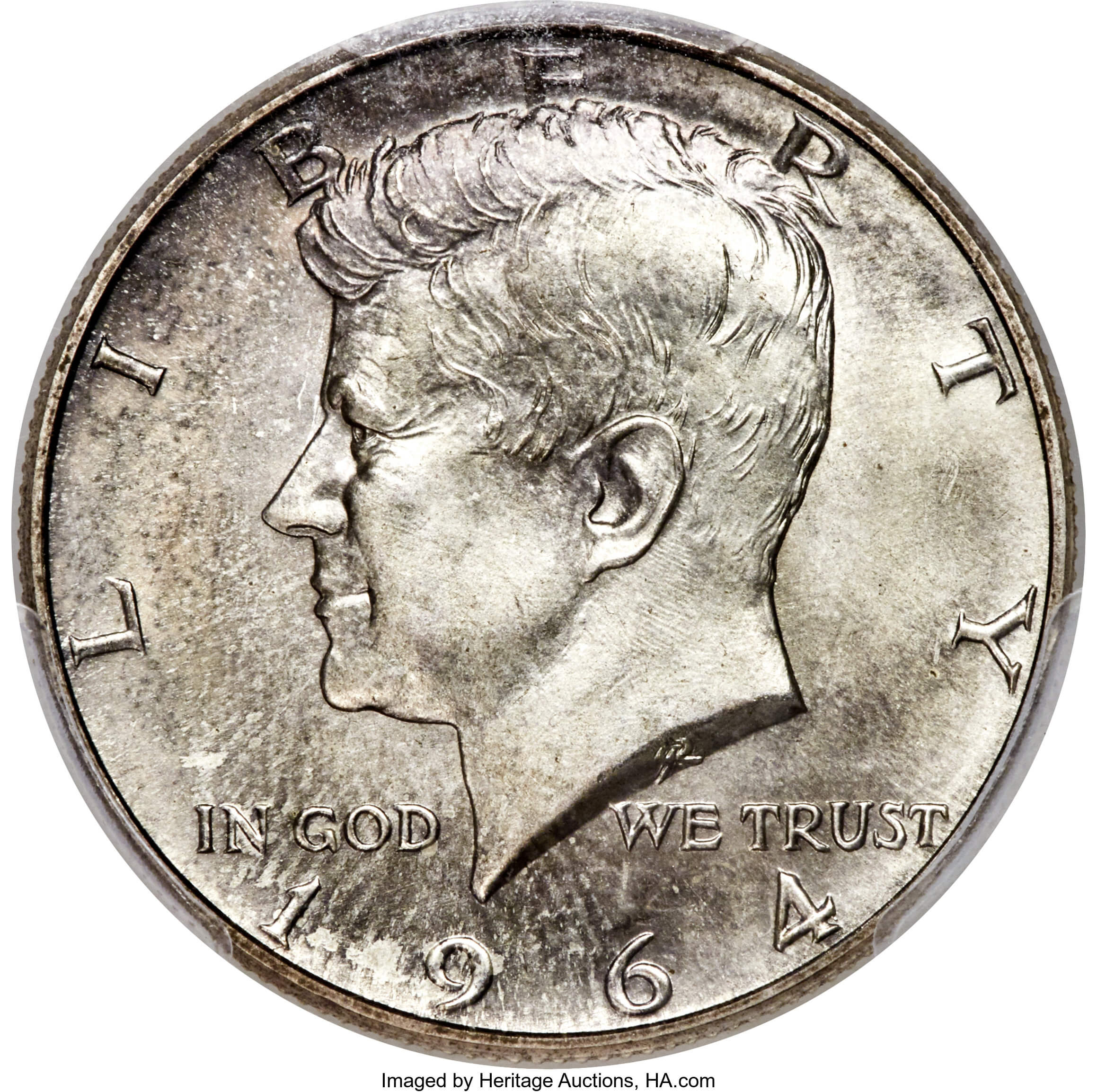 Heritage Auctions Sells Most Expensive Kennedy Half Dollar