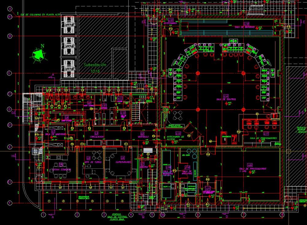 Complejo Industrial Ensenada Sala de Control Bunkerizada