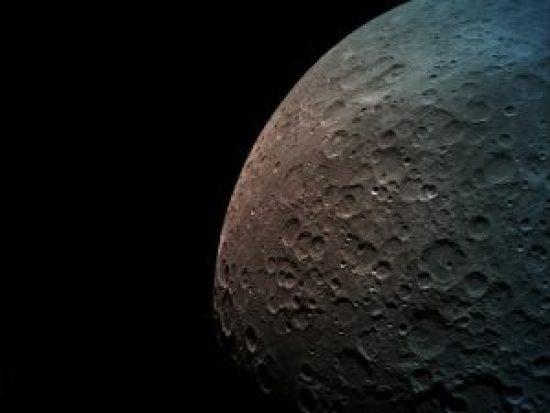 Beresheet lander picture of the moon.