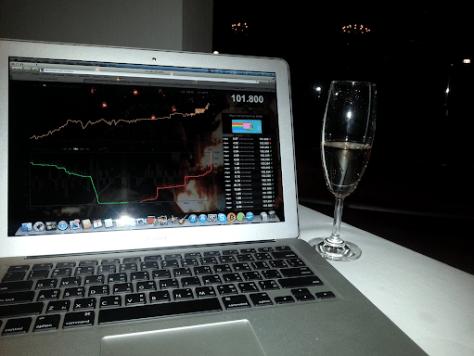 Celebrating Bitcoin breaking