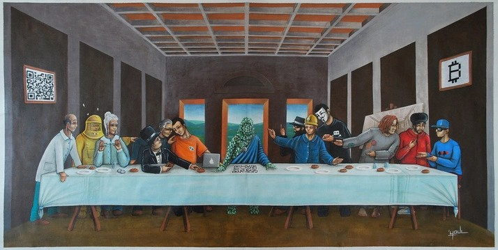 "Youl. ""Last Bitcoin Supper"""
