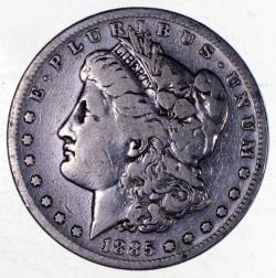 1885 S Morgan Silver Dollar