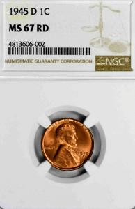 1945-D Penny