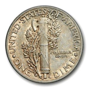 1916 dime mint types