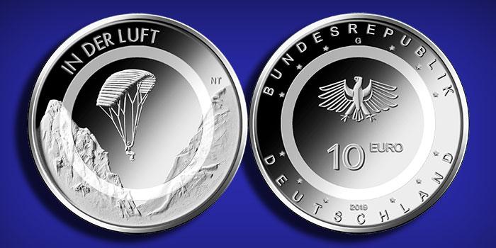 Germany 2019 - 10-Euro - In Der Luft