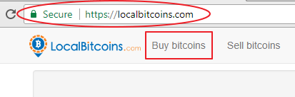 login to localbitcoins