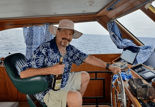 The Father of Antivirus, Conspiracy Theories, Cryptocurrency, McAfee's Wild Life