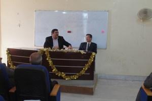 كلية العلوم الاسلامية تقيم محاضرة حول الاسلام والمسيحية
