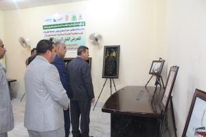 كلية العلوم الاسلامية تقيم المعرض الفني السنوي الاول