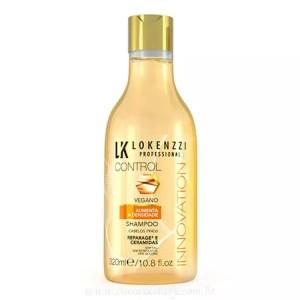 Shampoo Vegano cabelos Finos 320ml - Lokenzzi