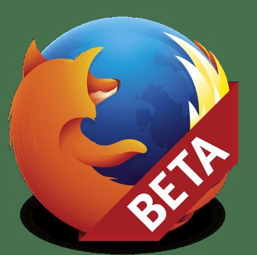 firefox beta logo
