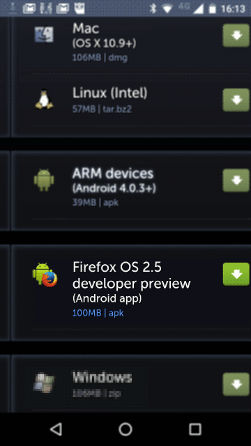 Download Firefox OS