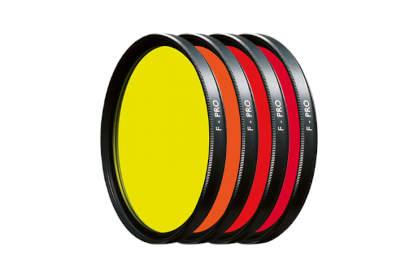 conjunto de 4 filtros circulares HOYA F-PRO