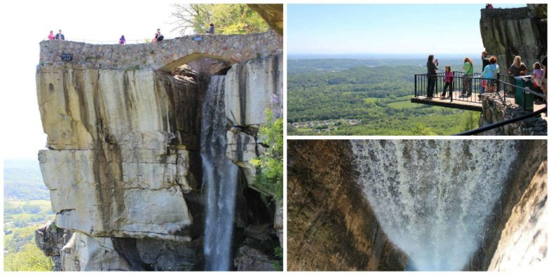 Lovers leap na Rocky City em Chattanooga
